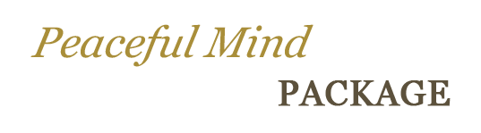 peacefulmind package